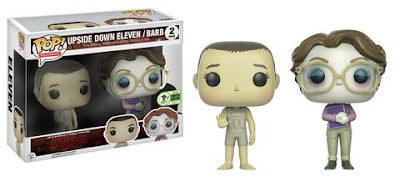 Emerald City Comicon 2017 Exclusive Stranger Things Upside Down Eleven & Barb Pop! Vinyl Figure 2 Pack Box Set by Funko