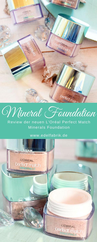 L'Oréal Perfect Match Minerals Foundation, Test, Türkis