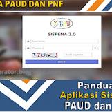 Panduan Sispena 2.0 Paud PNF Tahun 2019
