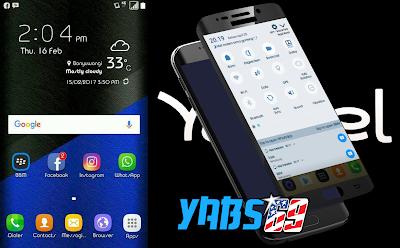 Custom Rom Samsung Galaxy S7 For Andromax A ( Avelino Pro )