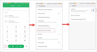 Enable sms Caller id in MIUI