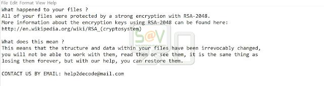 Help2decode@mail.com__.a800 (Ransomware)