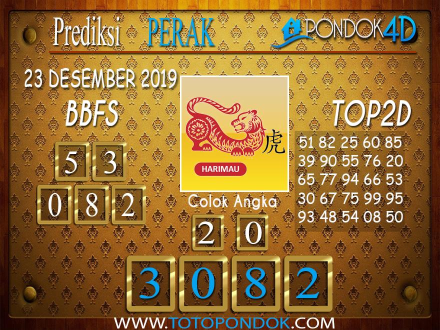 Prediksi Togel PERAK PONDOK4D 23 DESEMBER 2019