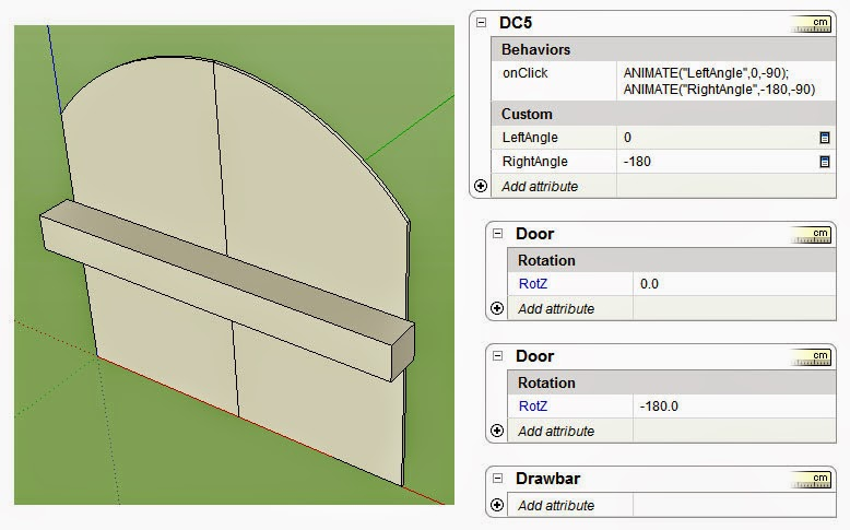 The SketchUp Dynamic Components Tutorial: Lesson 10: Multiple