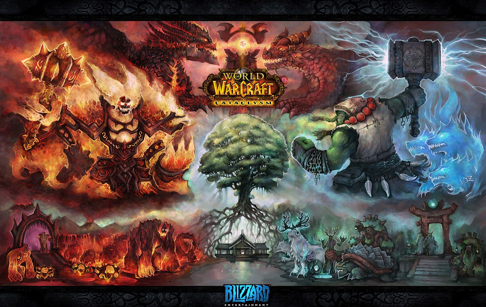 Wallpaper A Day World Of Warcraft Horde Cataclysm Wallpaper