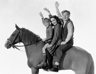 Mickey Rooney, Donald Crisp, Elizabeth Taylor