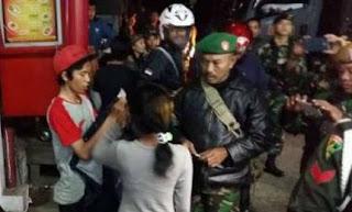 TNI Razia Geng Motor di Kota Bandung