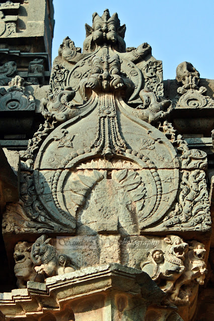 sculptures on the shikara of Kashivishwanatha temple