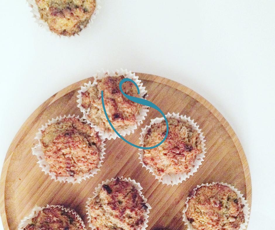 #Banana & Walnut breakfast muffins | Muffins Bananes & Noix | Vegan