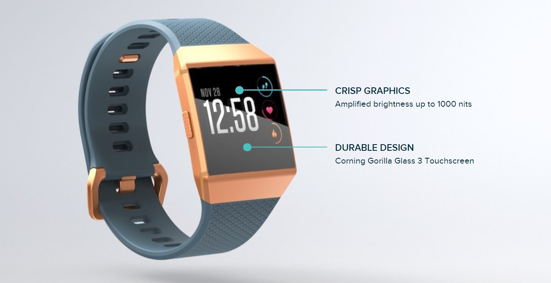 Fitbit 'Ionic' Smartwatch, 'Flyer' Wireless Headphones