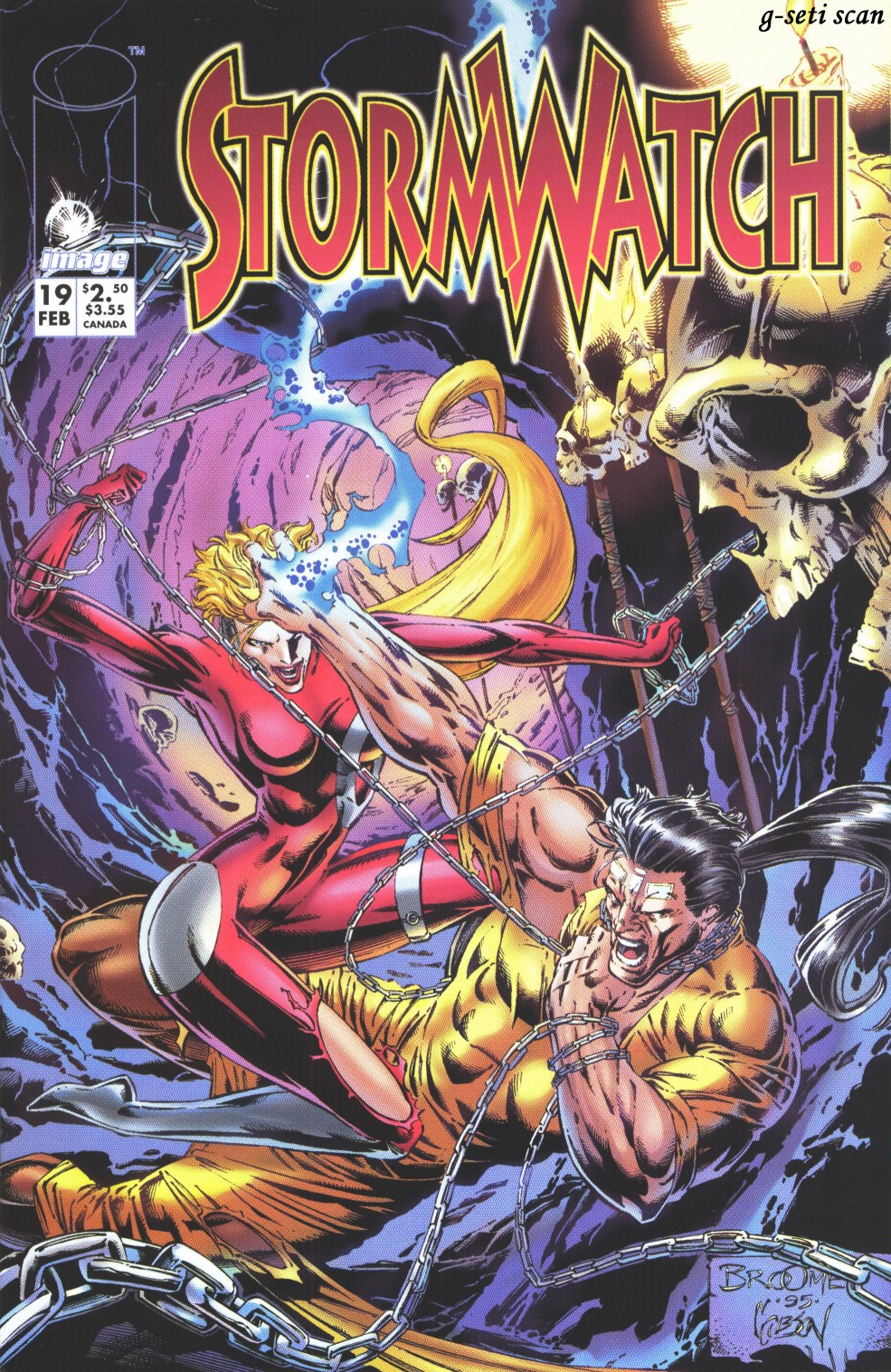 Stormwatch (1993) issue 19 - Page 1