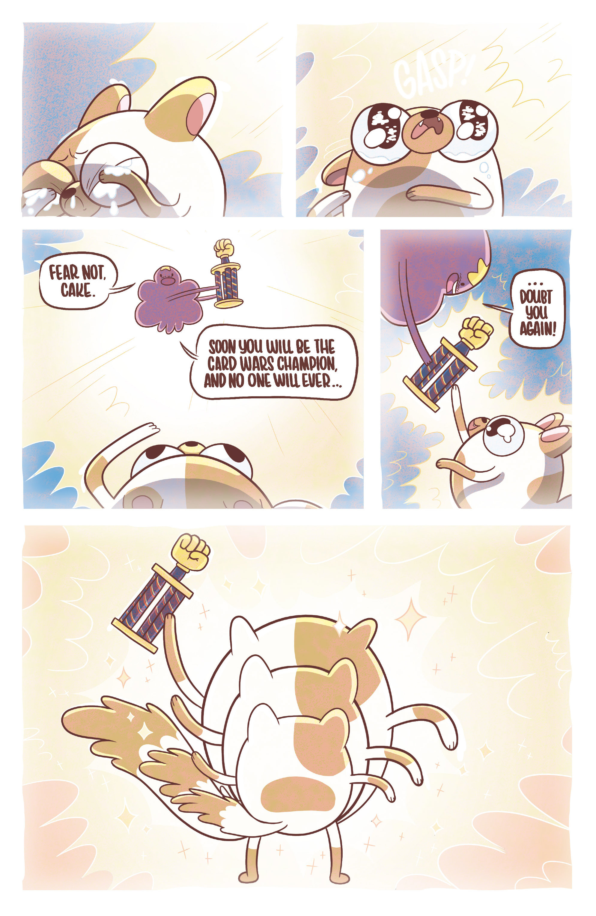 Read online Adventure Time Fionna and Cake Card Wars comic -  Issue #3 - 6