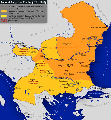 Second Bulgarian empire