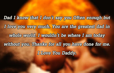 Happy fathers day quotes from son