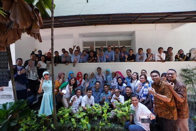 Lakukan Koordinasi,Sandiaga beri semangat Tim OK OCE Indonesia