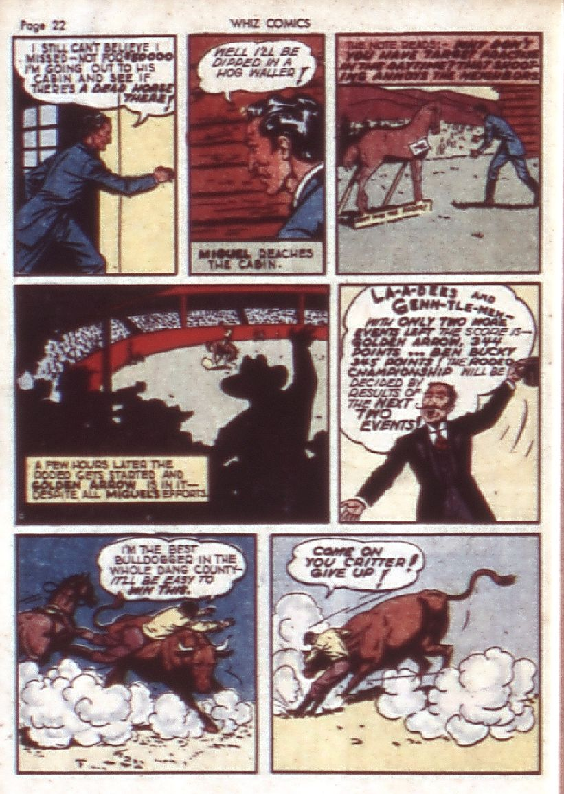 WHIZ Comics issue 23 - Page 24