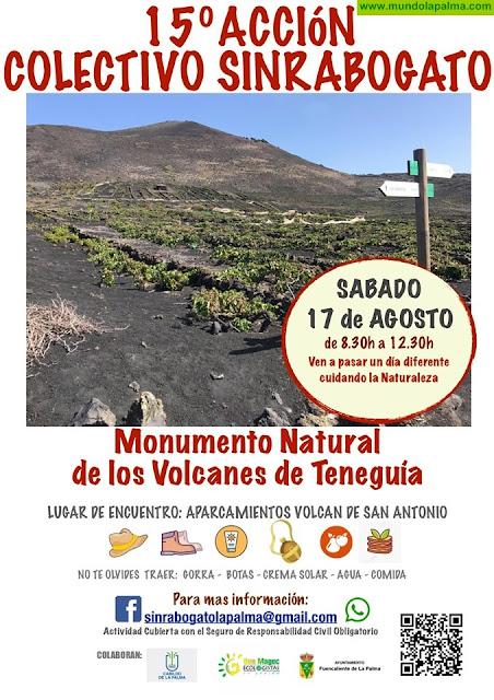 15ª Acción SinRaboGato La Palma - Monumento Natural de Los Volcanes de Teneguía