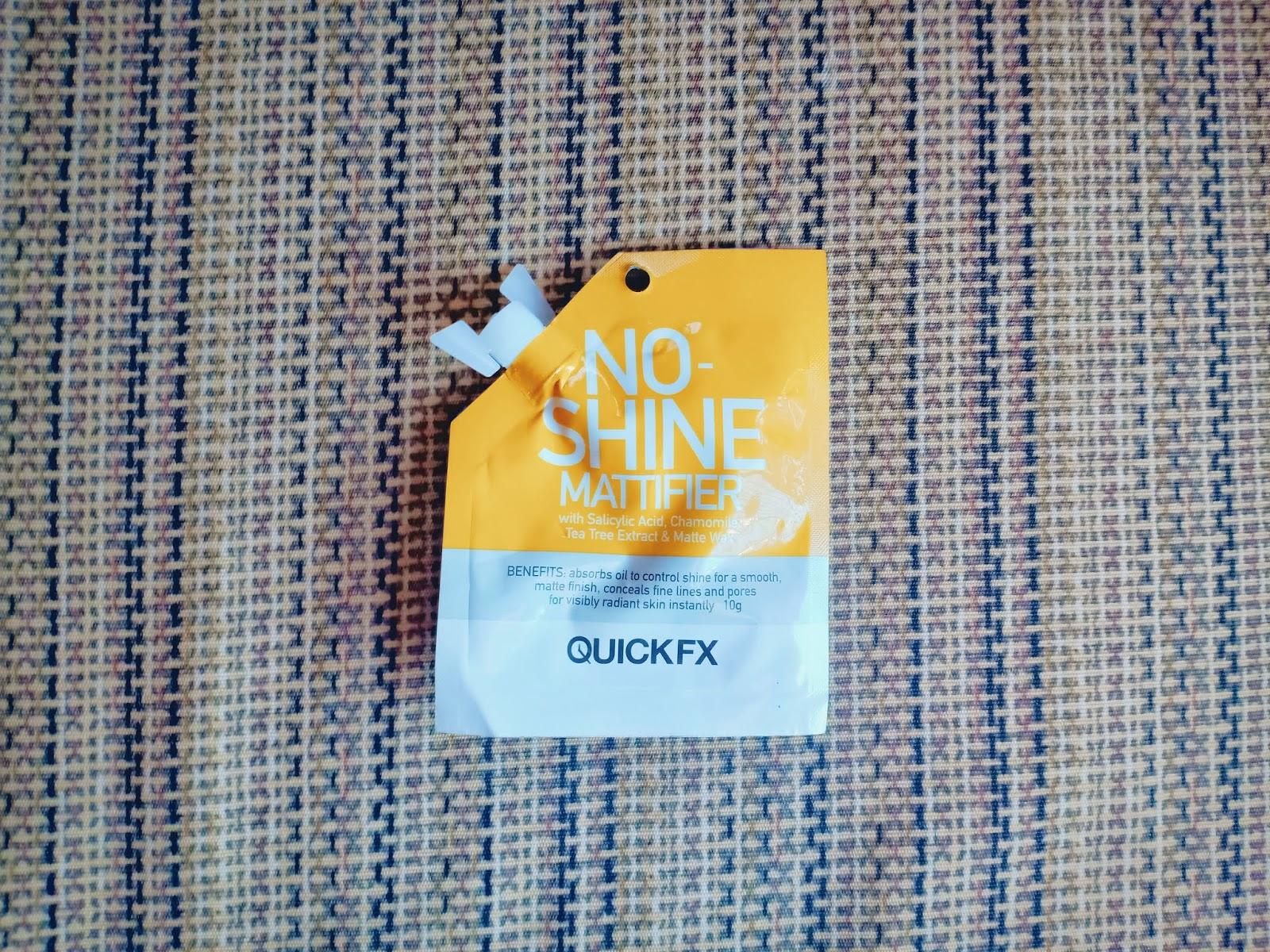 Everyday Makeup Routine Quick FX No Shine Mattifier
