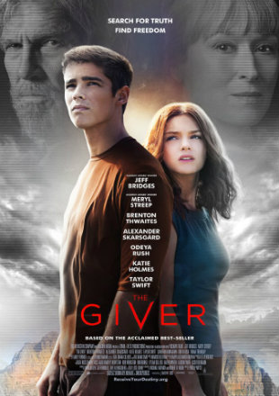 The Giver 2014 BRRip 720p In Dual Audio Hindi English