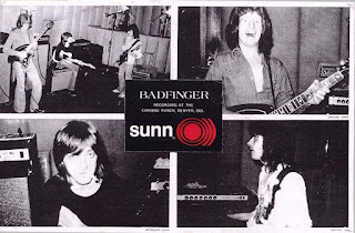 promo poster for Sunn Amps (photos from Wish You Were Here sessions)