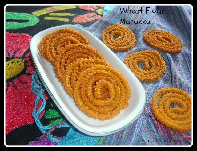 photo of Wheat Flour Murukku/Godumai Mavu Murukku