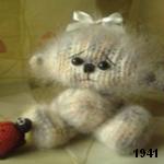 patron gratis oso amigurumi de punto, free knit amigurumi pattern bear