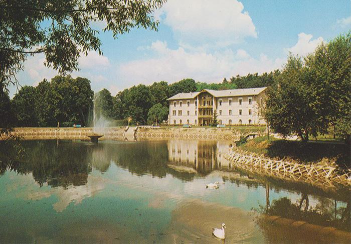 Pocztówka - Nałęczów Park