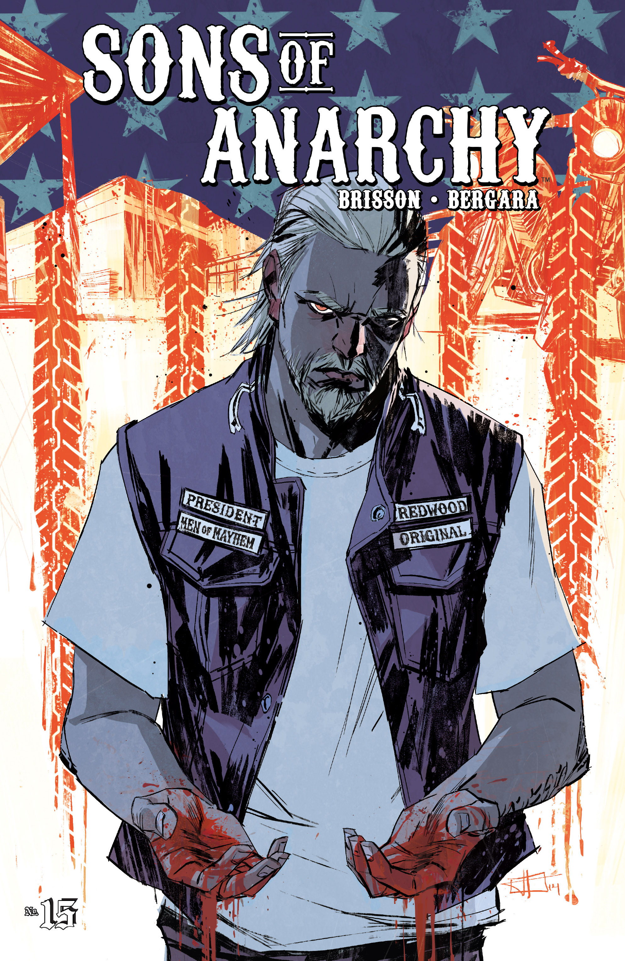 Read online Sons of Anarchy comic -  Issue #15 - 1