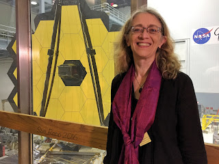 JWSTArt Event, First look at James Webb Space Telescope, Sue Reno