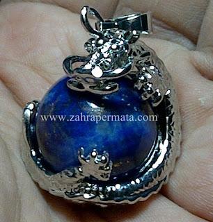 Leontin Batu Lapis Lazulite - ZP 524