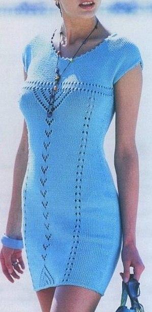 Платье бирюзового цвета для девочки