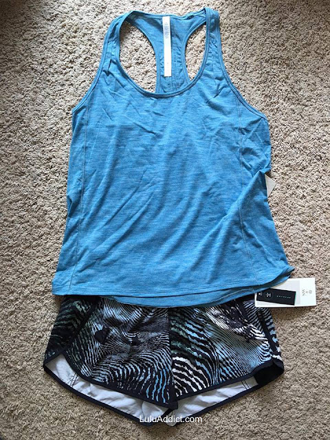 lululemon hotwave-tank tofino-teal sea-wheeze