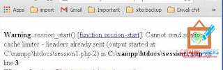 "Bagaimana Caranya Mengatasi ""session_start() : Cannot send session cache limiter - headers already sent"" PHP"