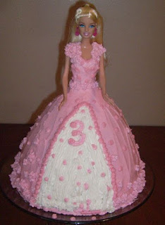 kue ultah barbie