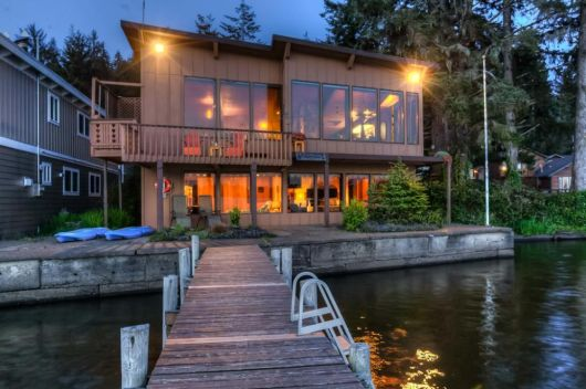 Holiday Home With Private Dock And Kayak Lincoln City