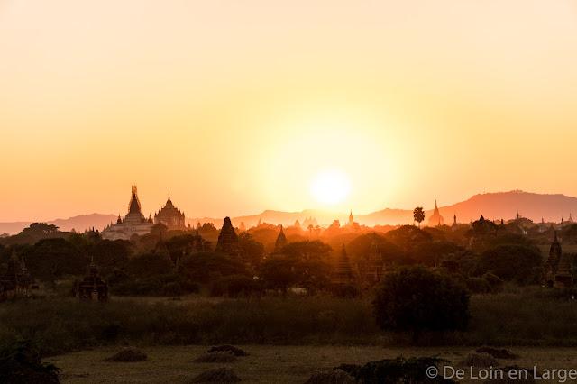 Vue du Oak-Kyaung-Gyi temple - Bagan - Myanmar - Birmanie