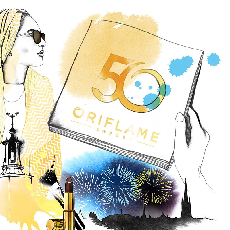What to do when you receive the new Oriflame Catalog