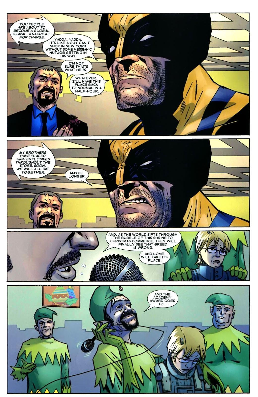 Read online Wolverine (2003) comic -  Issue #49 - 17