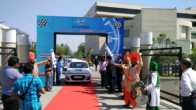 Hyundai India Organizes The 'Miles and Smiles Rally'