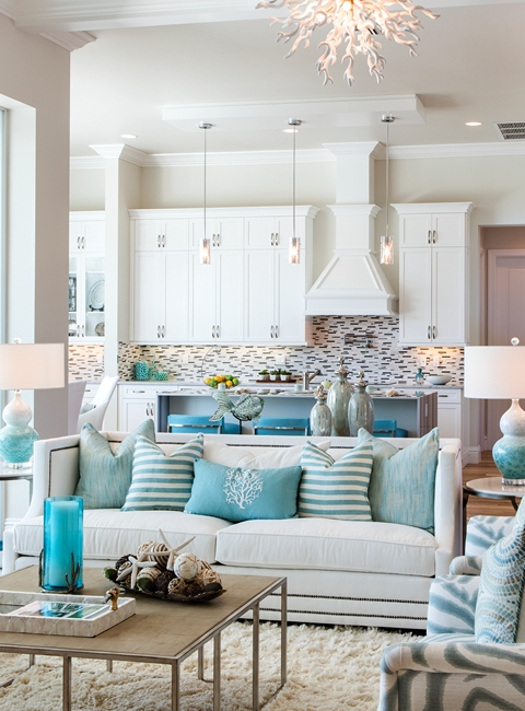 How to Mix and Match Pillows on Sofa Coastal Living
