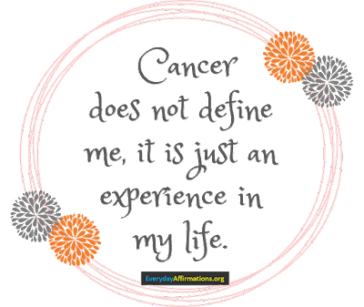 Health Affirmations for Cancer4