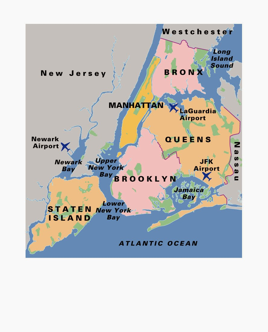 Cartina America New York.Ripasso Facile Riassunto Inglese Su New York