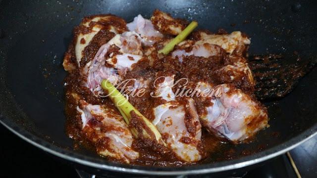 Asam Pedas Ayam Yang Sangat Sedap