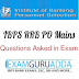 Question asked in IBPS RRB PO Mains Exam 2016- 11 December
