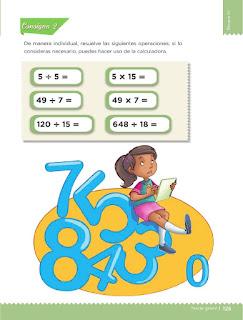 Apoyo Primaria Desafíos matemáticos 3ro Grado Bloque IV Lección 59 Hacer problemas
