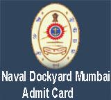 Naval Dockyard Mumbai Admit Card Tradesman Call Letter