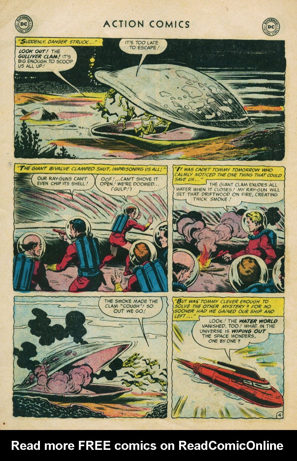 Read online Action Comics (1938) comic -  Issue #224 - 30