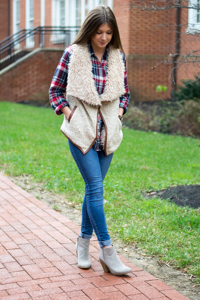 Chilly weather vest