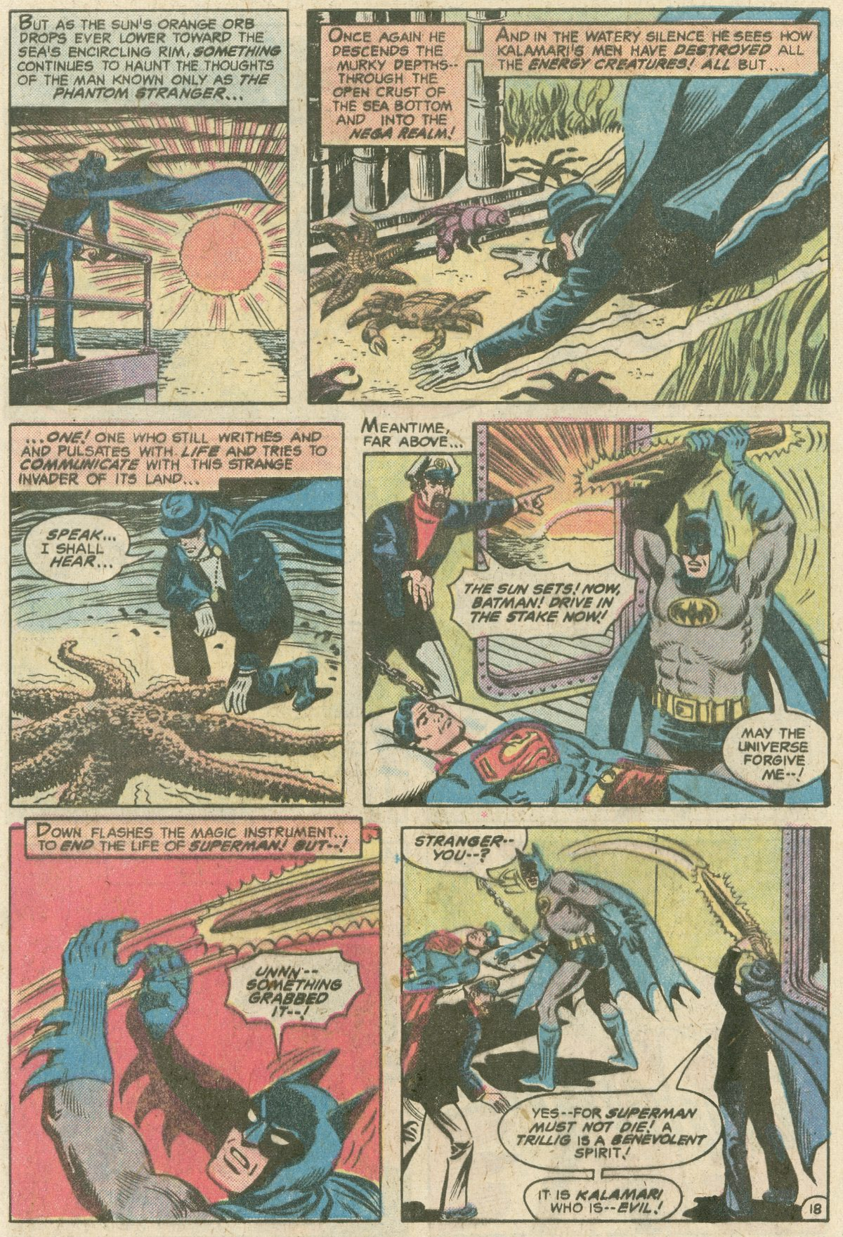 Read online World's Finest Comics comic -  Issue #249 - 19