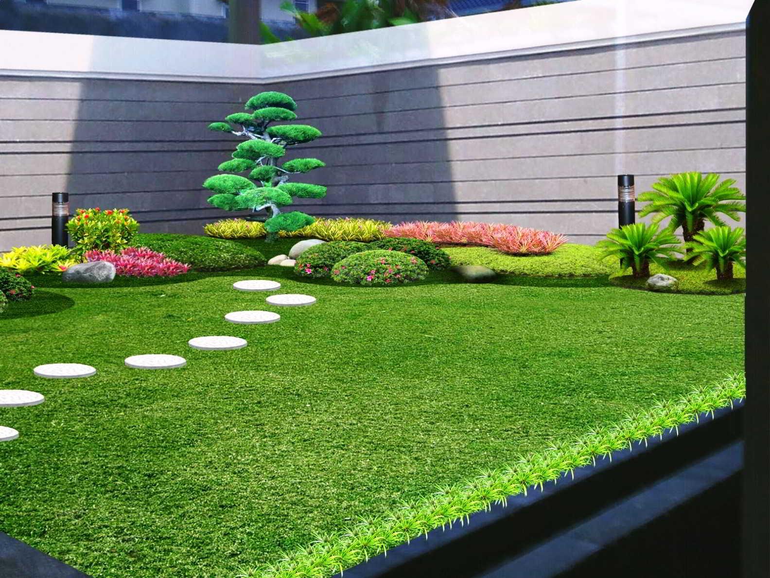 Gambar Desain Taman Sederhana
